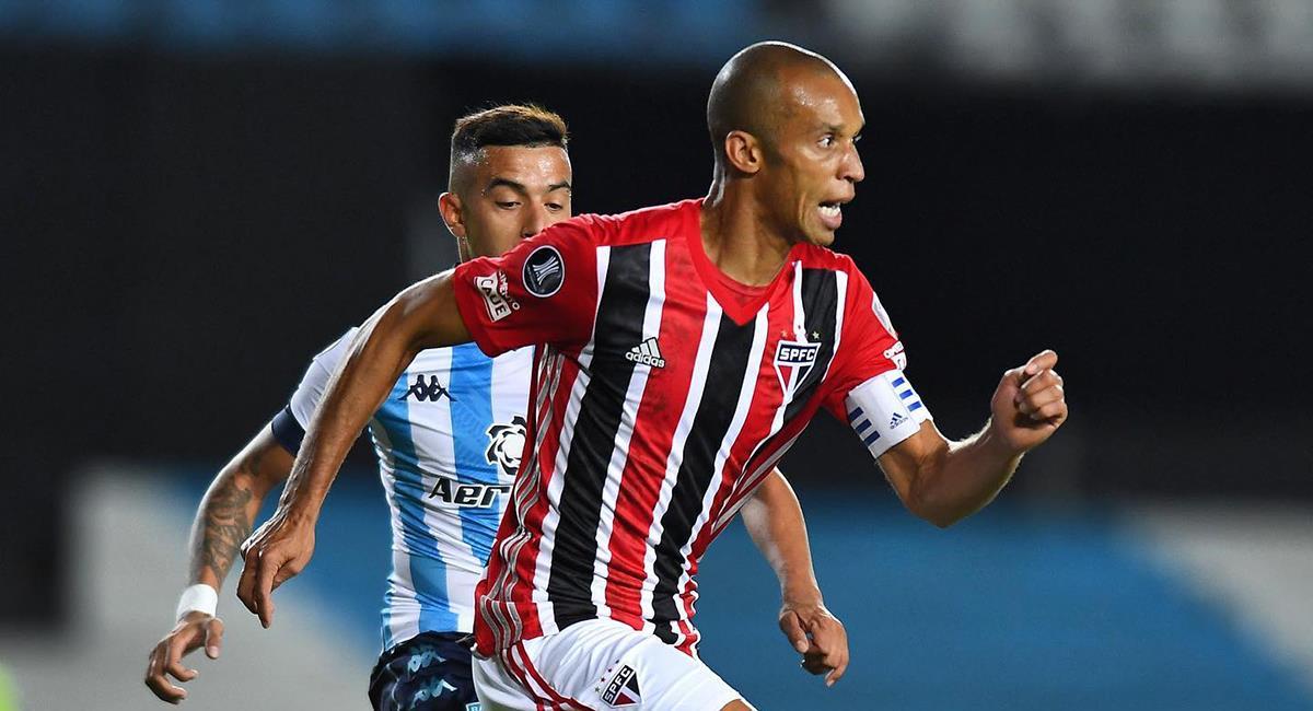 Sao Paulo y Racing se vuelven a ver en Libertadores. Foto: Twitter Sao Paulo FC
