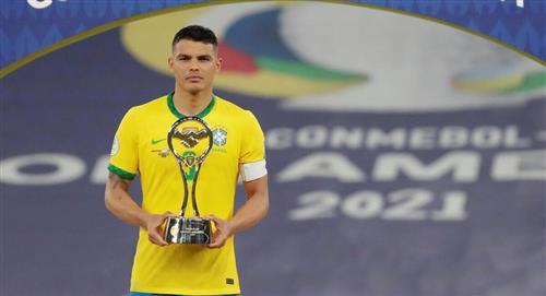 Thiago Silva criticó a hinchas brasileños