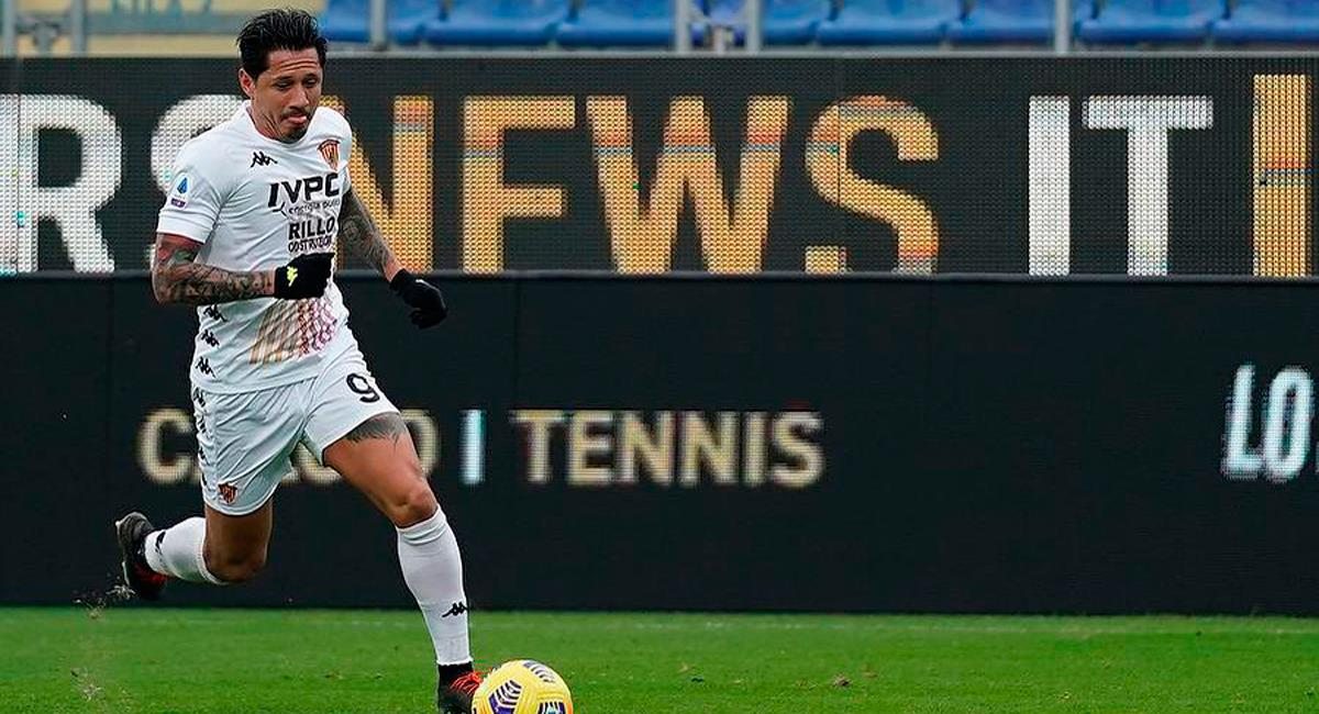 Gianluca Lapadula no fue considerado por Benevento. Foto: Twitter @G_Lapadula