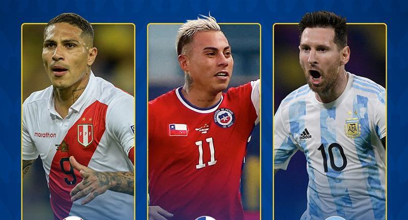 Conmebol y el reconocimiento a Guerrero en la Copa América