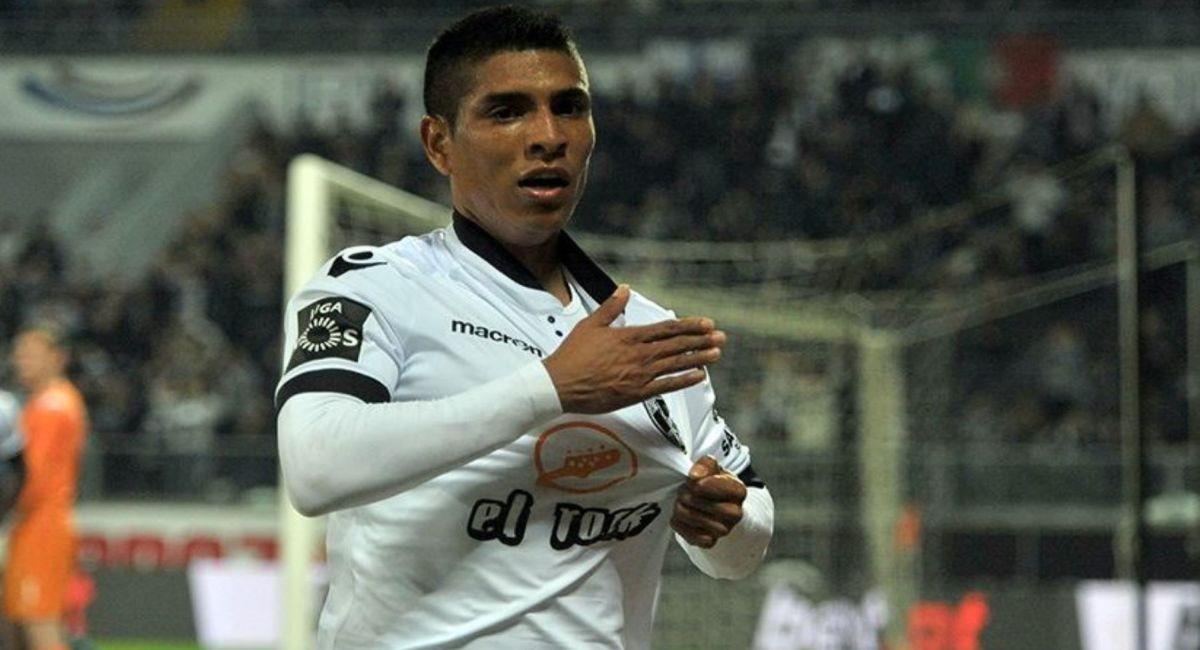 Paolo Hurtado. Foto: Twitter Club Lokomotiv Plovdiv