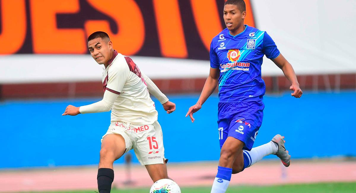 Universitario igualó con Alianza Atlético este lunes. Foto: Twitter @LigaFutProf