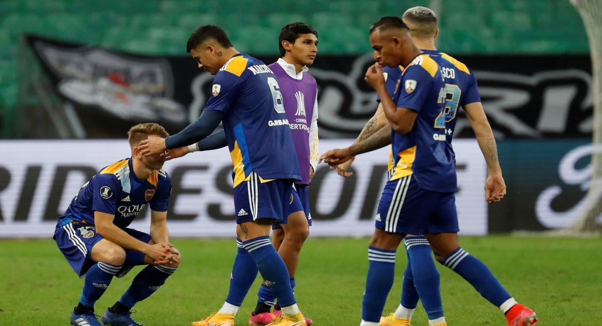 Boca Juniors se marchó eliminado de la Copa Libertadores. Foto: EFE