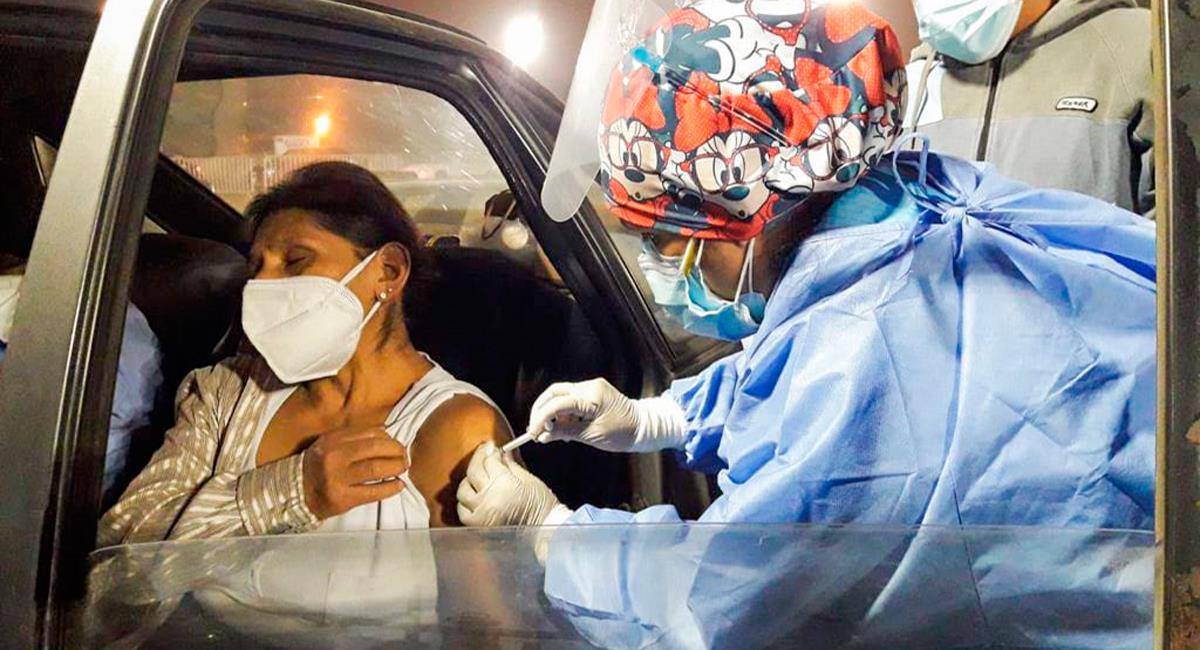 Infectados y fallecidos por COVID-19 al 18 de julio. Foto: Twitter @Minsa_Peru
