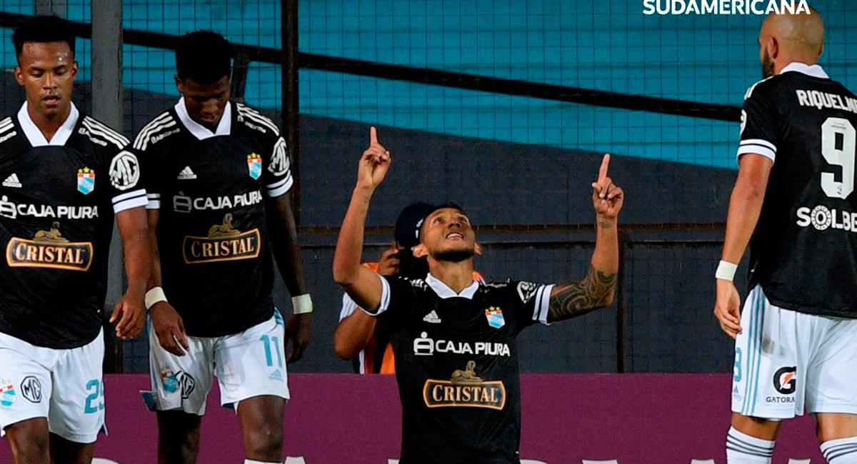 Sporting Cristal se clasificó a cuartos de final de Sudamericana. Foto: Twitter @SudamericanaBR