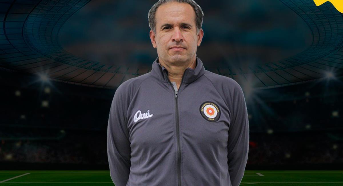 Carlos Silvestri fue presentado en Deportivo Coopsol. Foto: Twitter @Dep_Coopsol