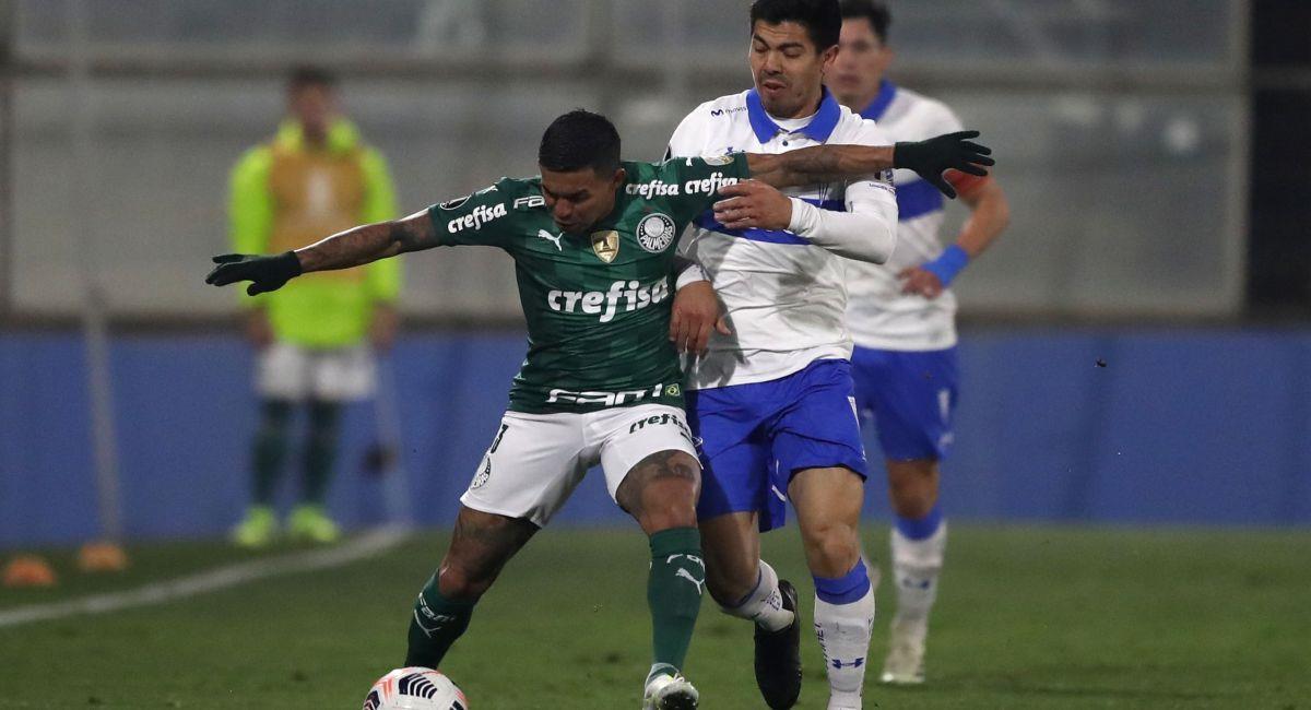 Palmeiras se volverá a topar con la Universidad Católica. Foto: EFE