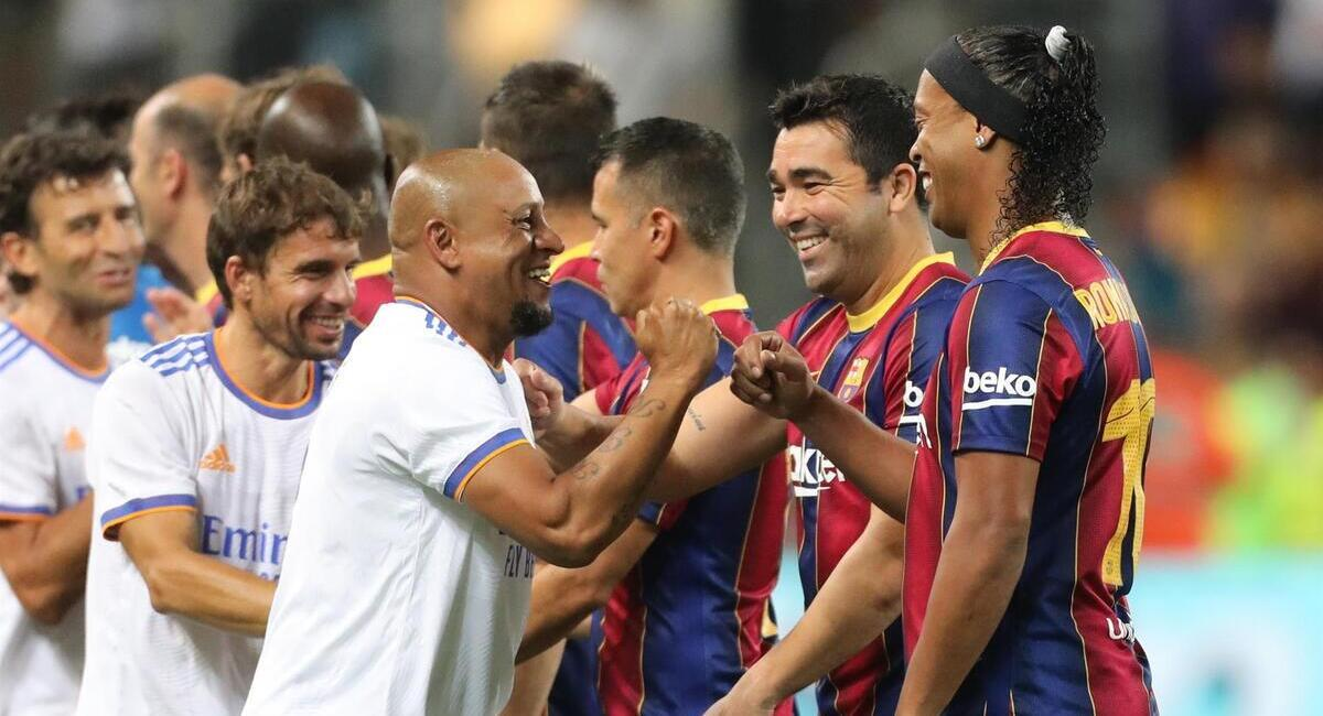 Real Madrid venció a Barcelona. Foto: EFE