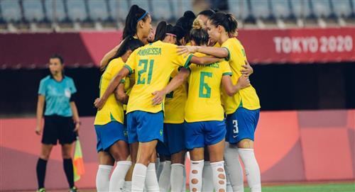 Brasileñas debutaron con goleada sobre China