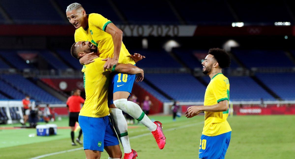 Brasil sumó su primera victoria en Tokio 2020. Foto: EFE