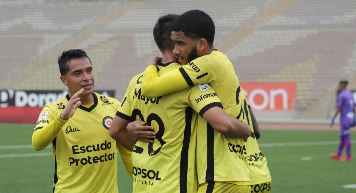 Deportivo Coopsol salió de perdedor en la Liga 2. Foto: Prensa de la FPF
