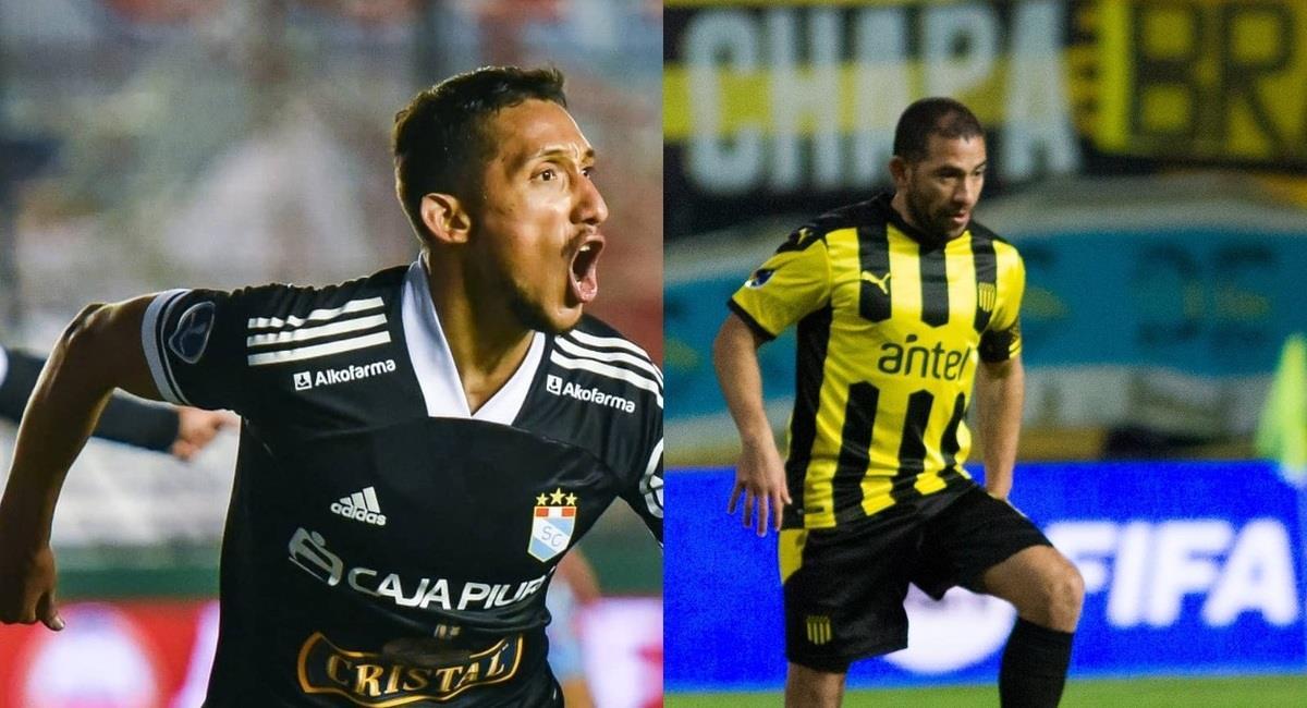 Cristal se enfrentará a Peñarol. Foto: @ClubSCristal y @OficialCAP