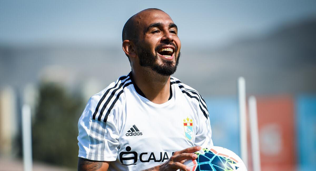 Marcos Riquelme. Foto: @ClubSCristal