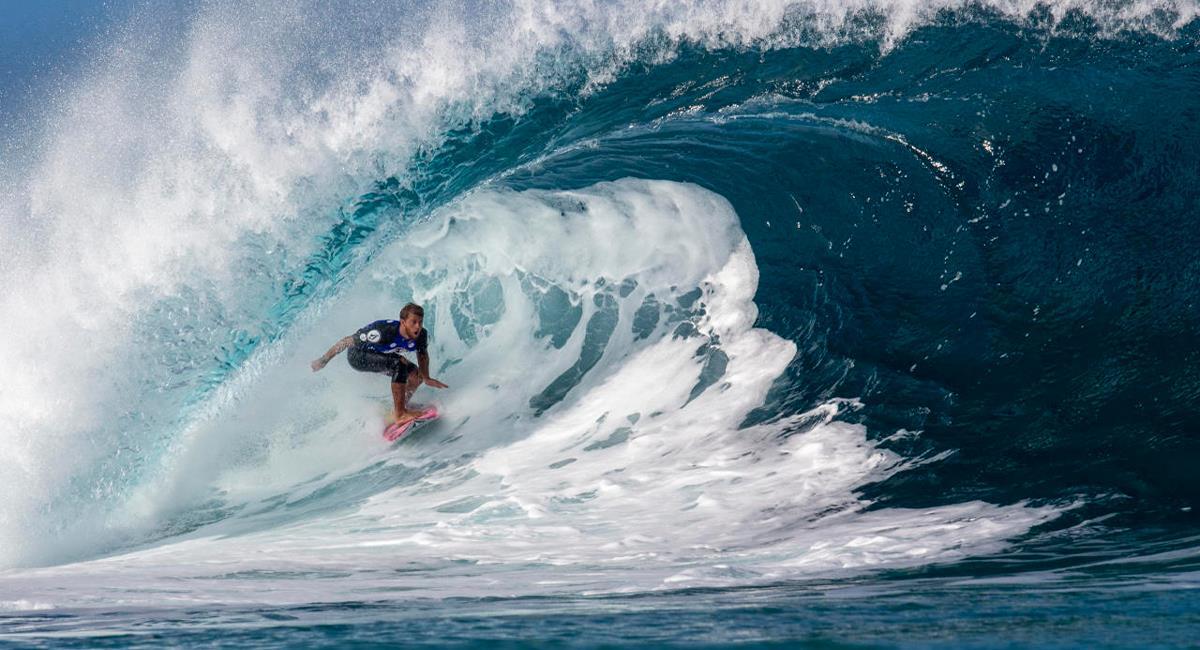 Miguel Tudela debuta en la disciplina de surf. Foto: IPD