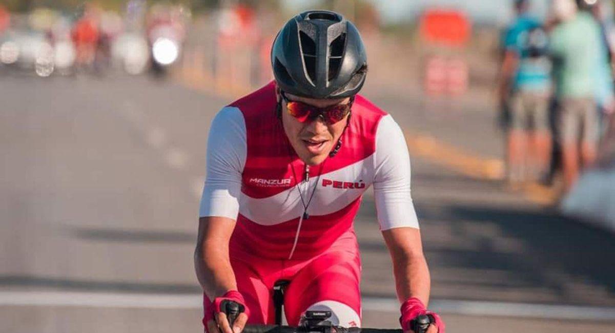 Royner Navarro, ciclista peruano. Foto: Andina
