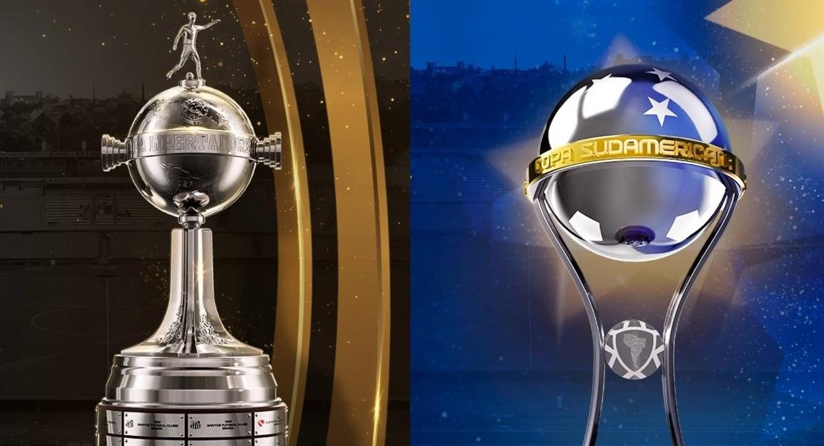 Libertadores y Sudamericana. Foto: @CONMEBOL