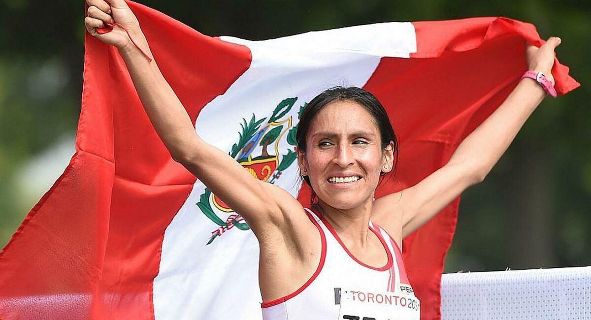 Gladys Tejeda. Foto: EFE