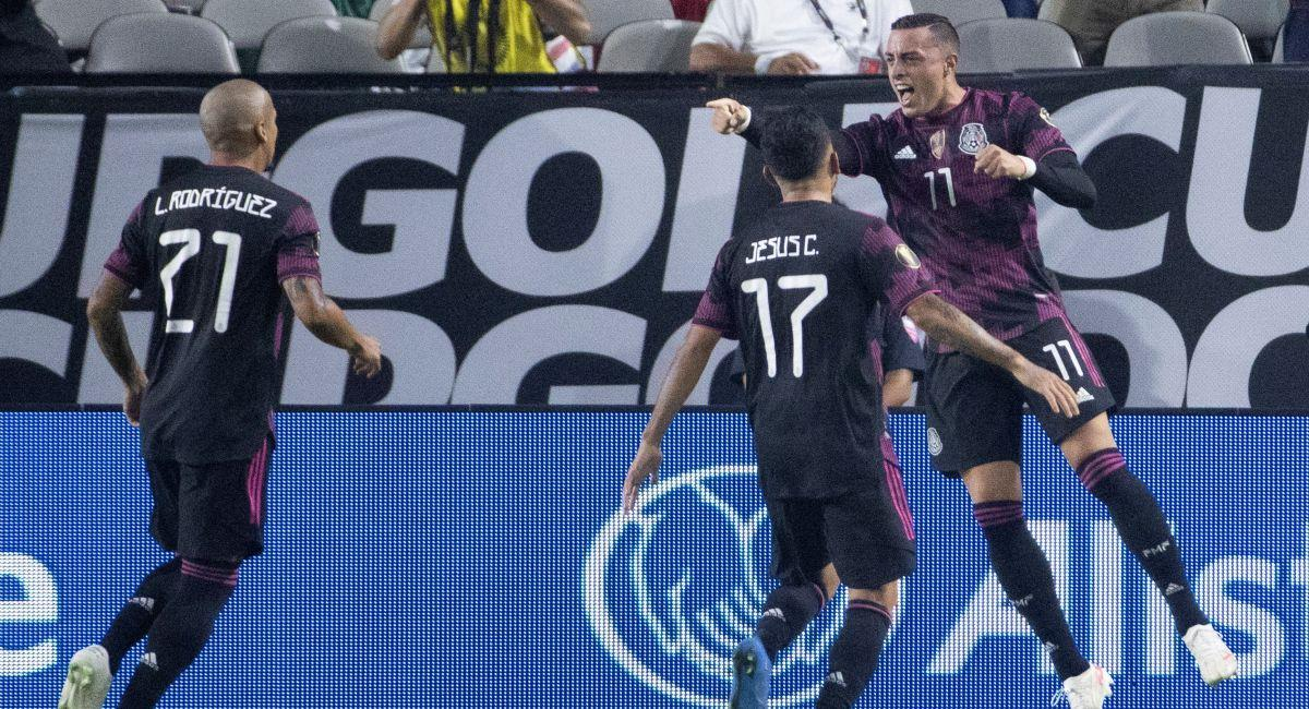 México quiere abrirse paso a la final de la Copa Oro. Foto: EFE