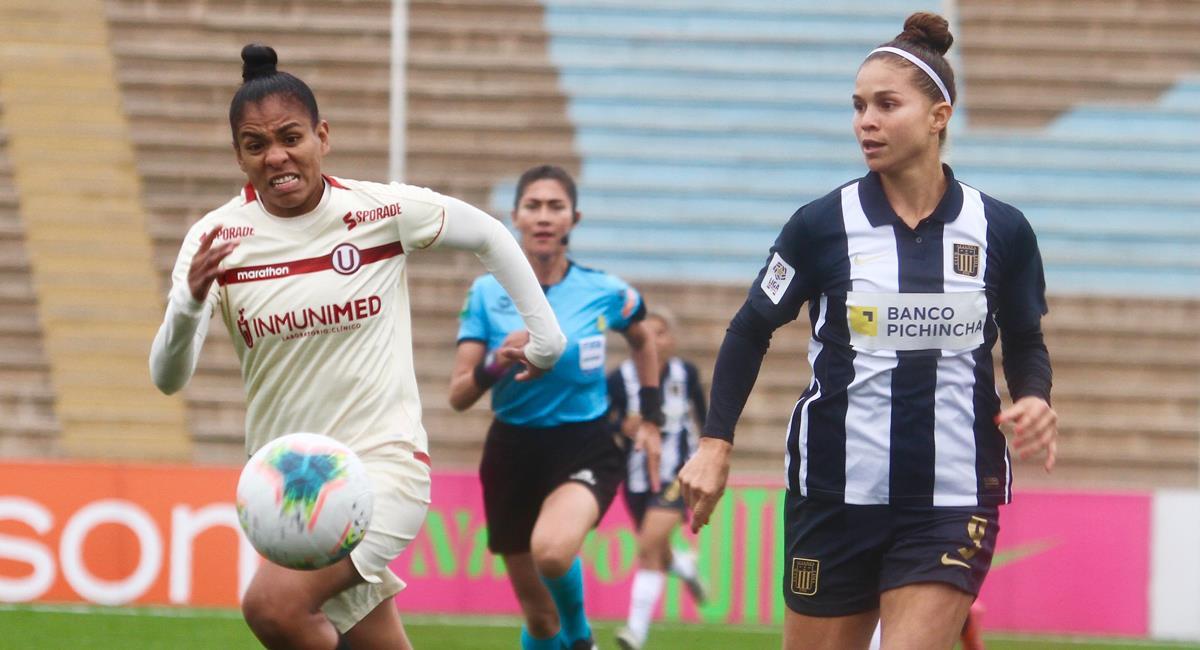 Alianza Lima igualó sin goles con Universitario en el Estadio San Marcos. Foto: FPF