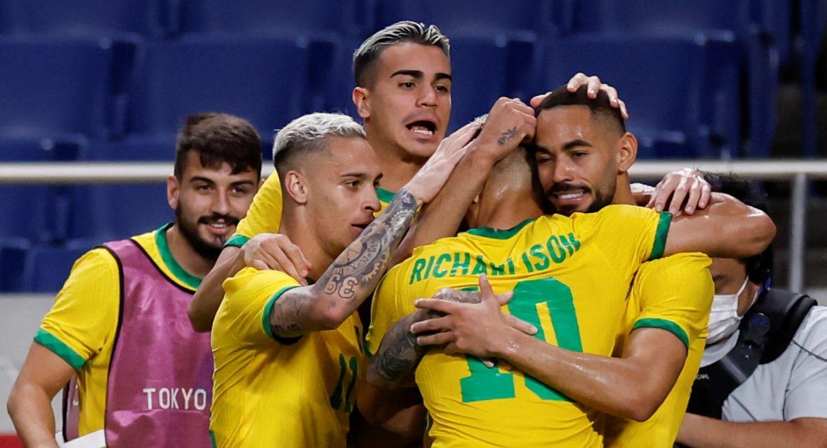 Brasil ya es semifinalista en Tokio 2020. Foto: EFE