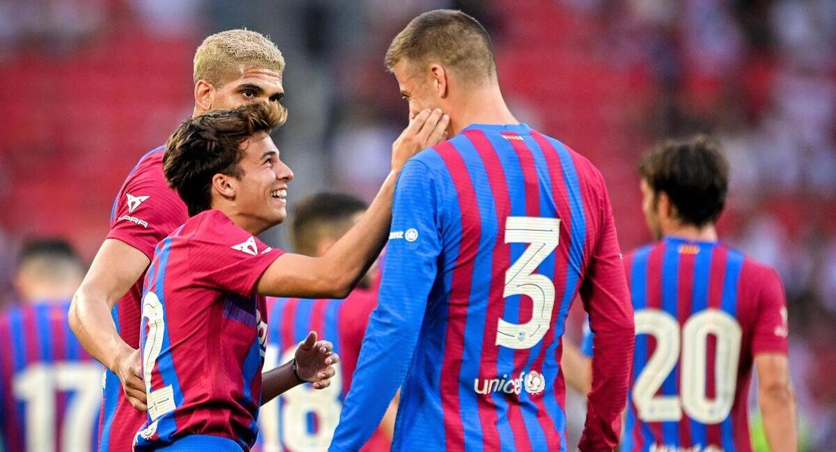 Barcelona goleó al Stuttgart. Foto: EFE