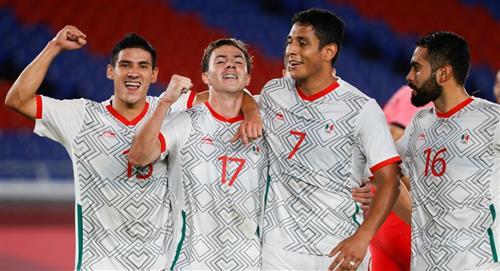 México a semifinales tras goleada sobre Corea