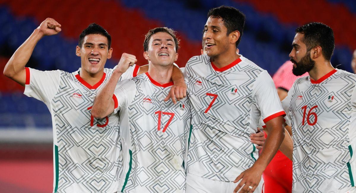 México es otro de los semifinalistas de Tokio 2020. Foto: EFE