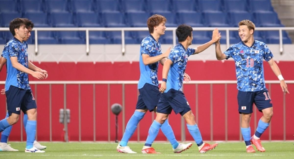 Japón venció a Nueva Zelanda. Foto: @jfa_en