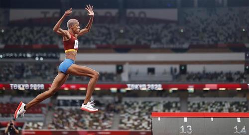 Yulimar Rojas, oro y récord mundial en Tokio 2020