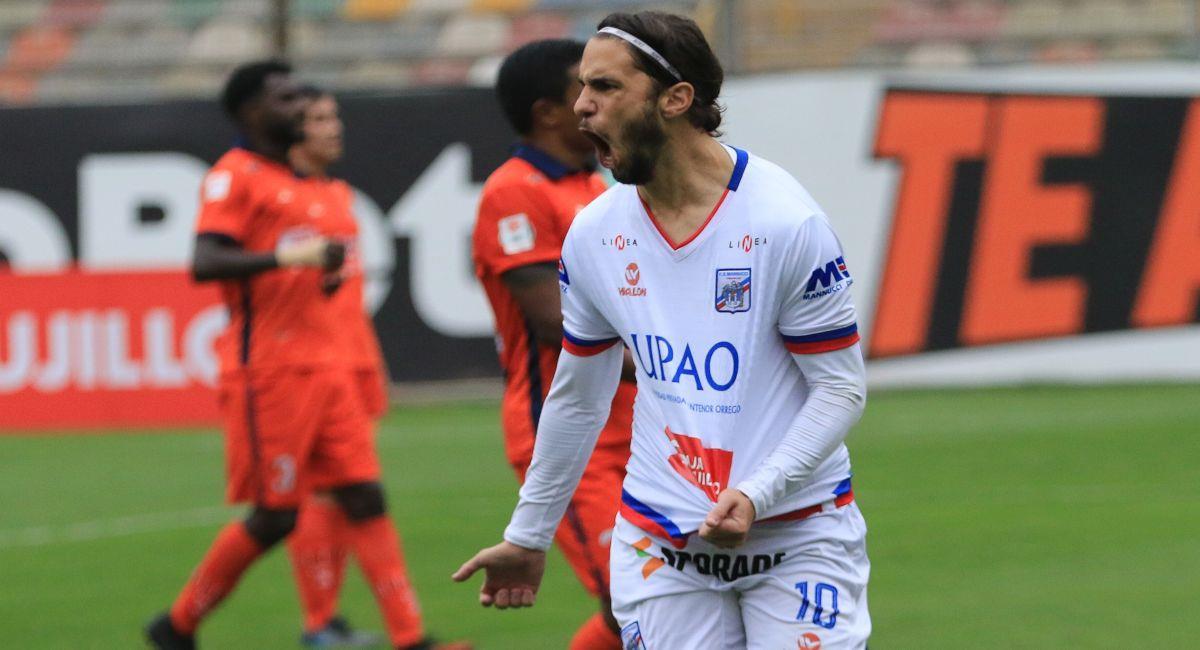 Carlos Mannucci ya sabe lo que es ganar a César Vallejo. Foto: FPF