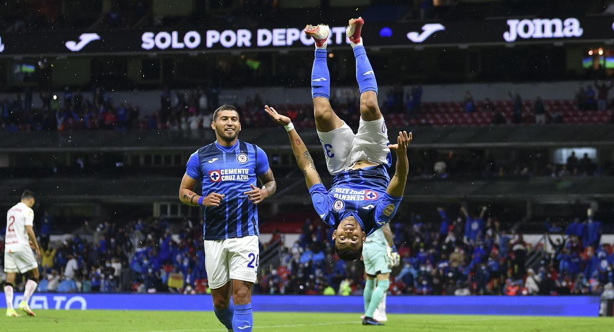 Cruz Azul goleó al Toluca. Foto: @CruzAzul