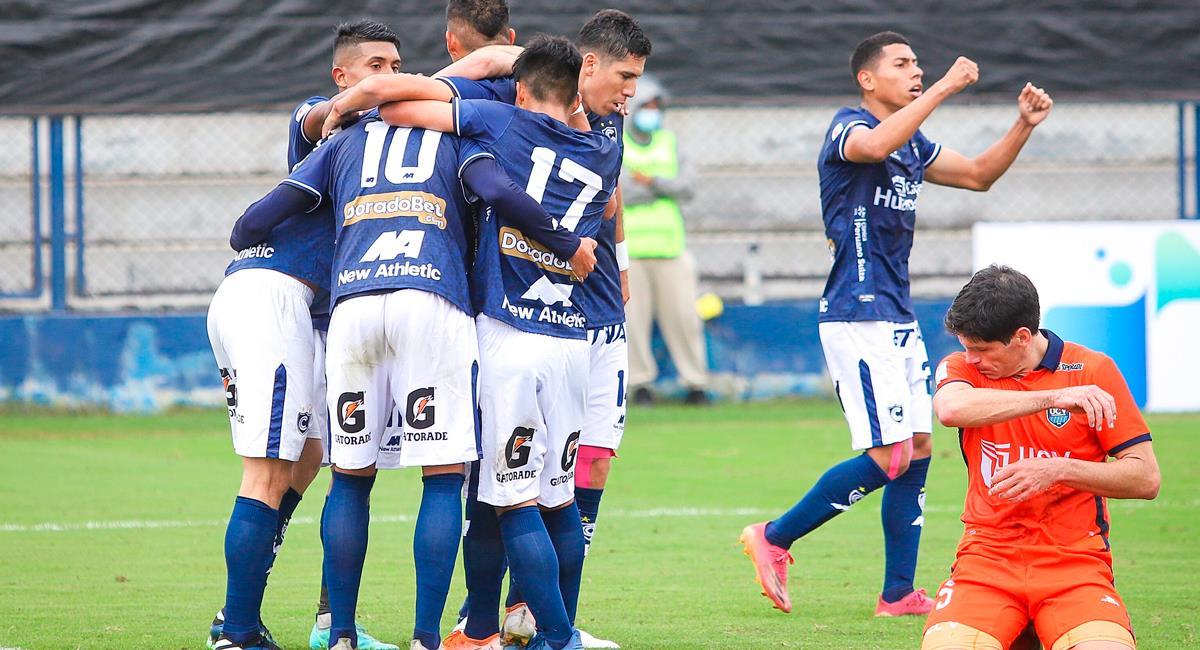 Cienciano venció a Vallejo por 1-0. Foto: FPF
