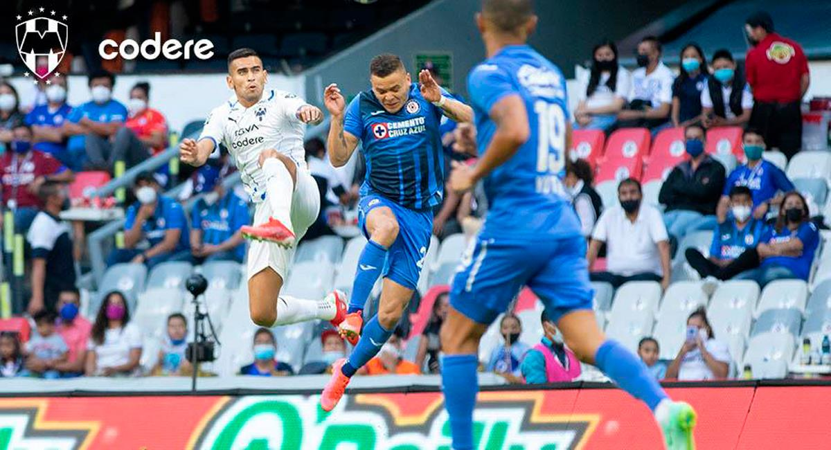 Cruz Azul empató ante Monterrey. Foto: Twitter Rayados