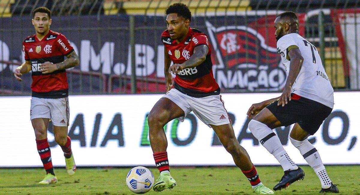 Flamengo recibe a Olimpia. Foto: @Flamengo