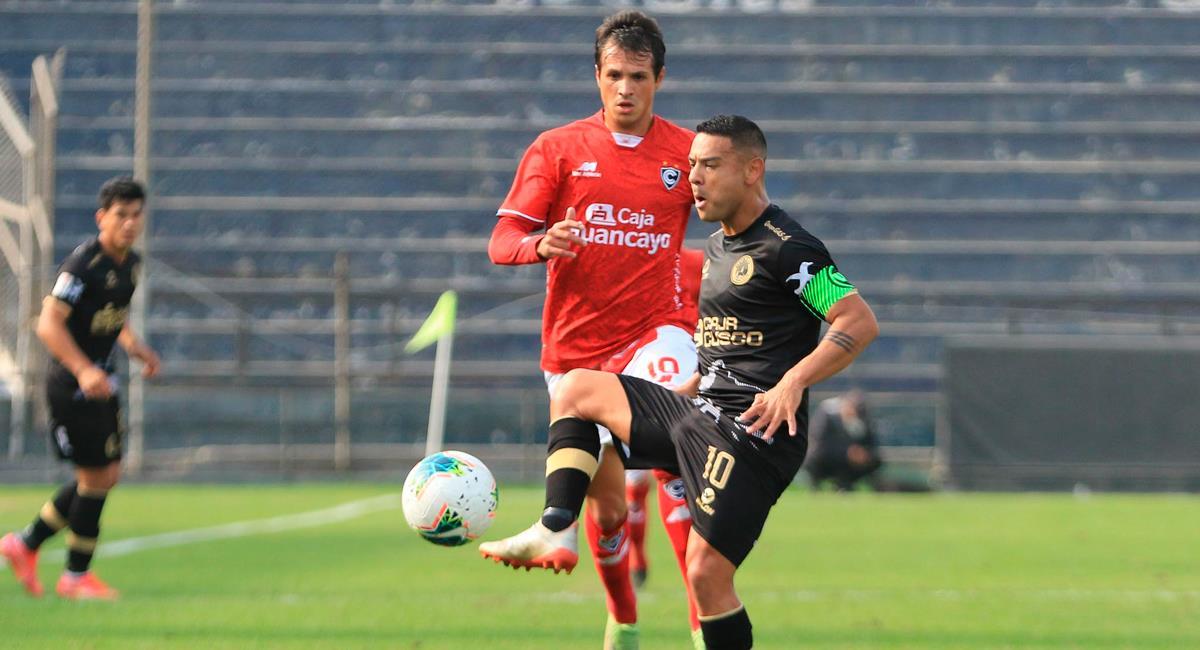 Cusco FC y Cienciano igualaron 2-2. Foto: FPF