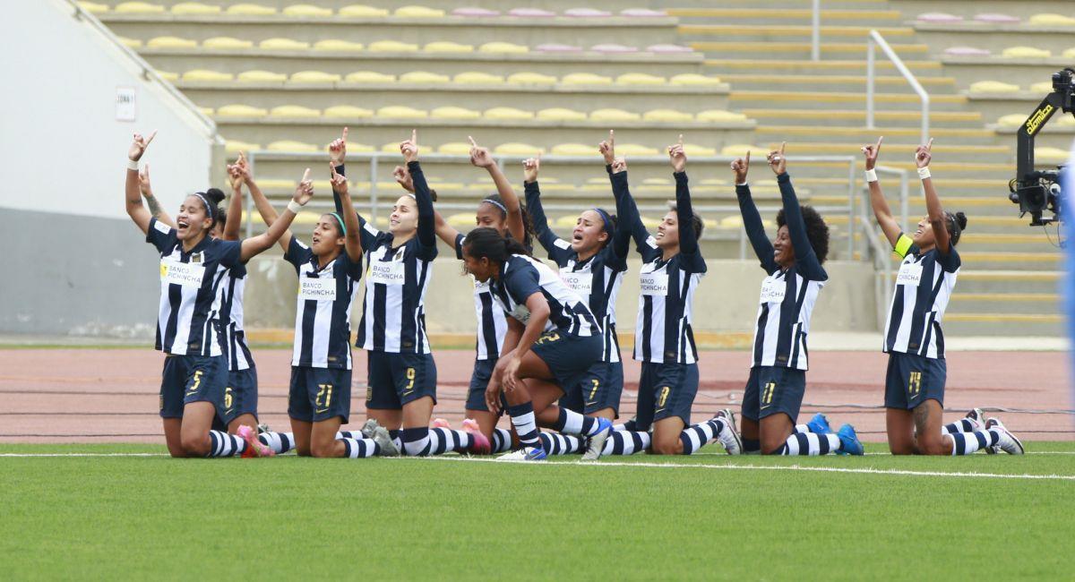 Alianza Lima está cerca de ganar la Liga Femenina. Foto: FPF