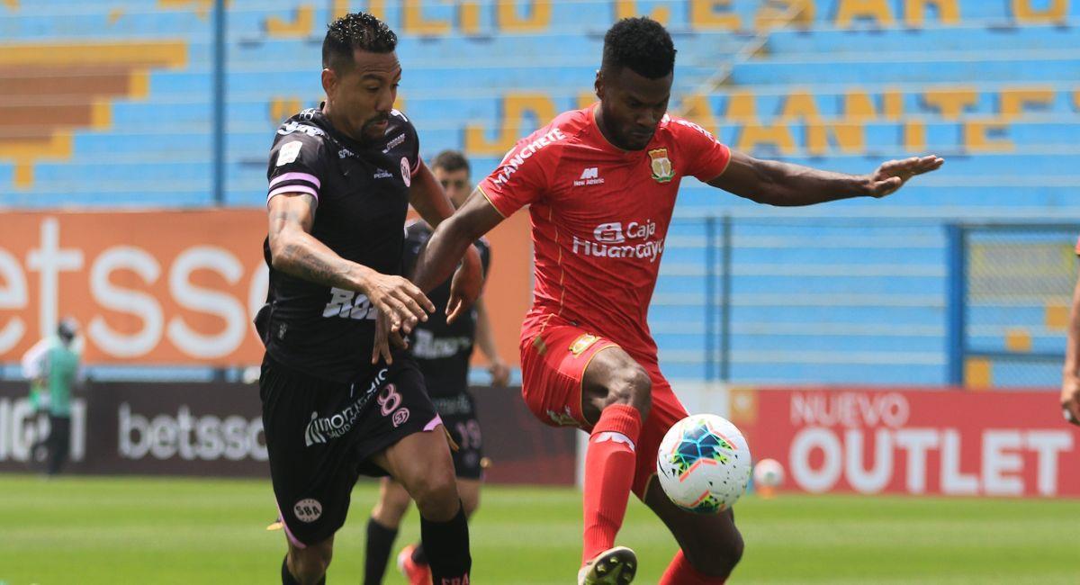 Sport Huancayo se repartió los puntos con Sport Boys. Foto: FPF