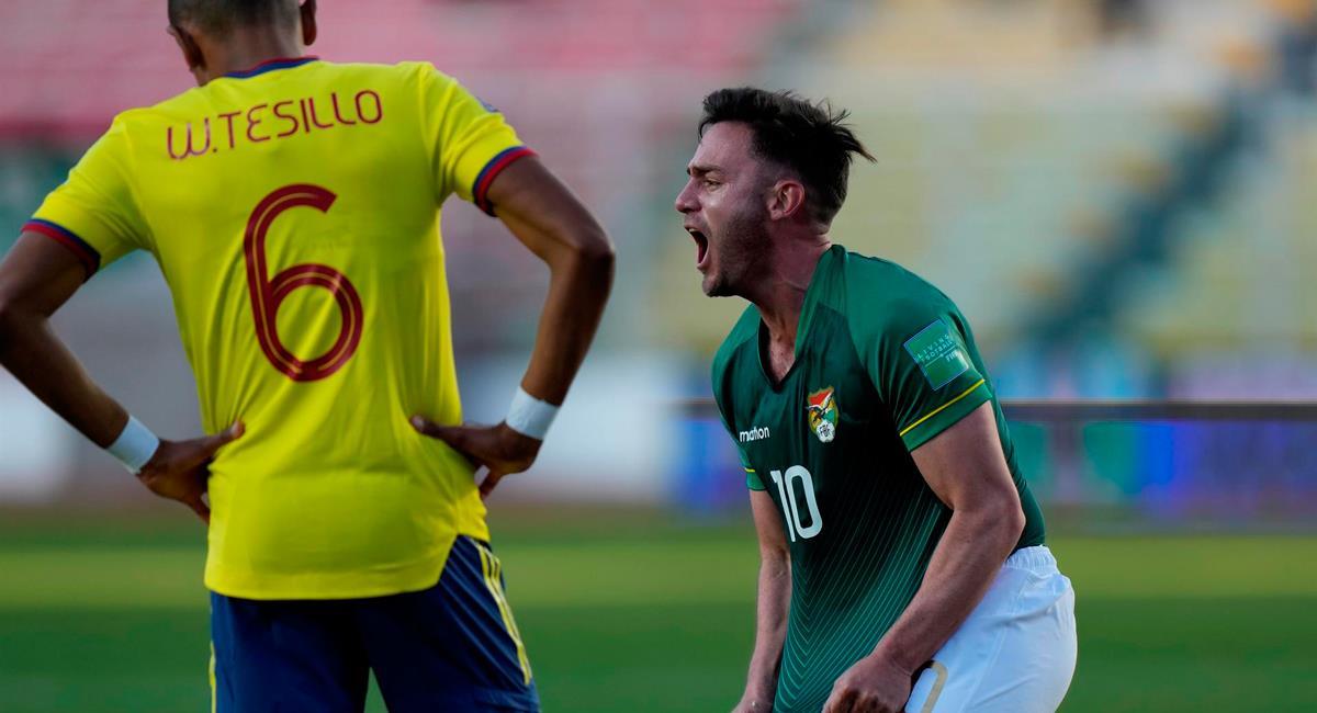 Fernando Saucedo marcó la igualdad a los 83 minutos. Foto: EFE