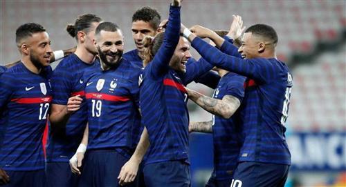 Francia tropezó ante Bosnia