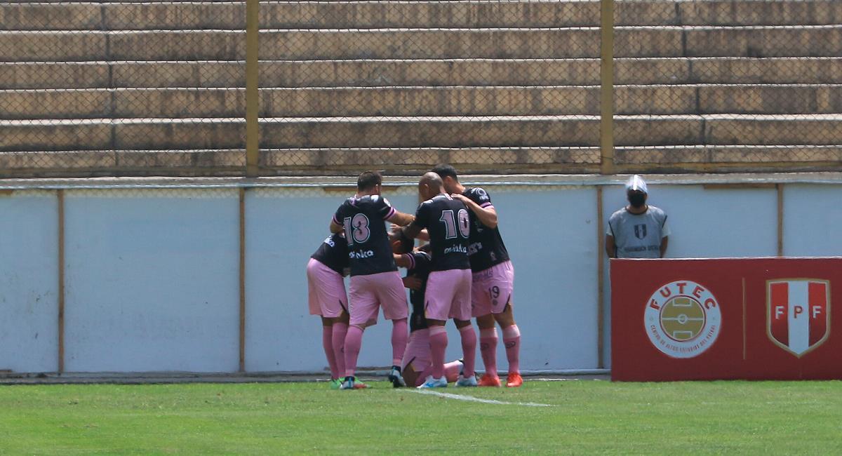 Benjamín Ampuero marcó a los 7 minutos del encuentro. Foto: FPF