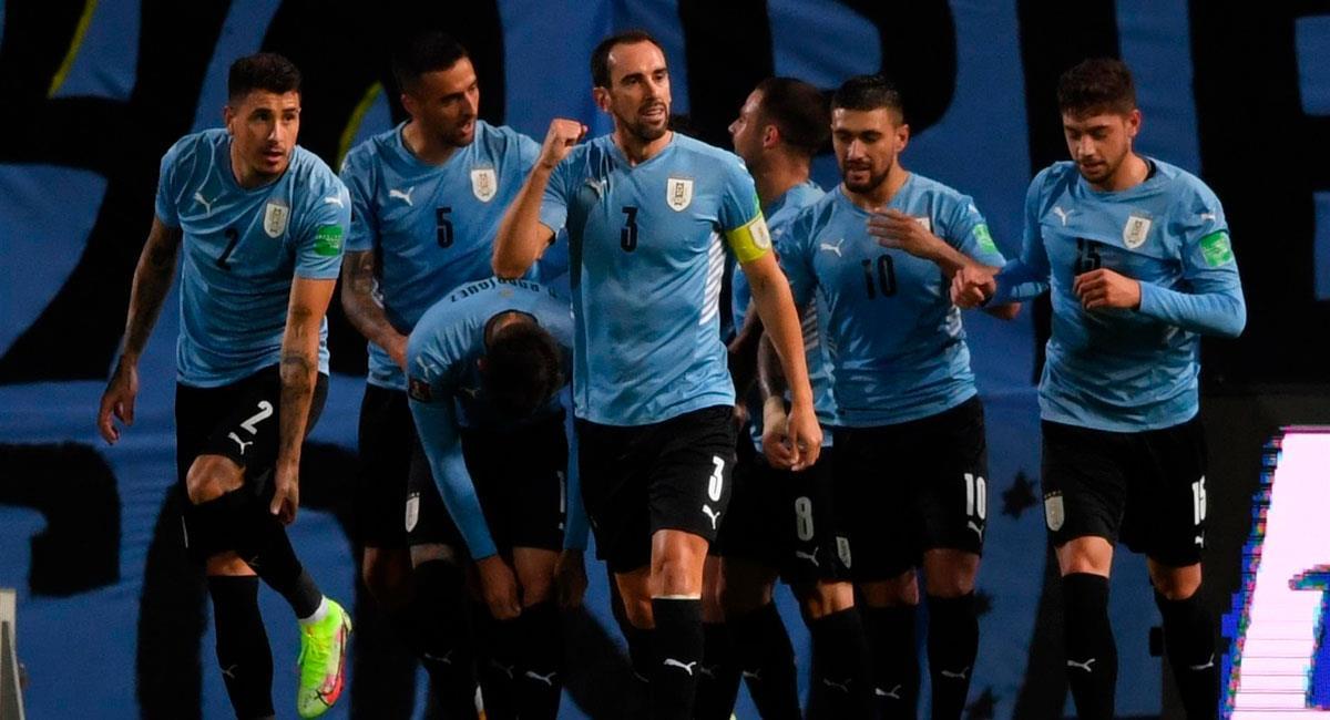 Uruguay vence a Bolivia. Foto: EFE