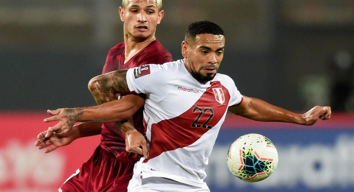Alexander Callens, defensa de la Selección Peruana. Foto: EFE