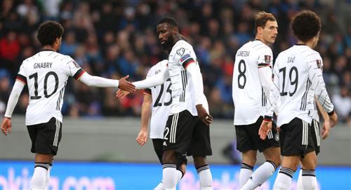 Alemania goleó a Islandia