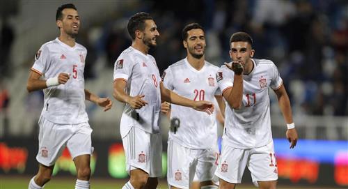 España sufrió para vencer a Kosovo