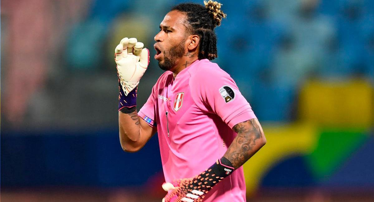 Pedro Gallese habló tras el Brasil vs Perú. Foto: FPF