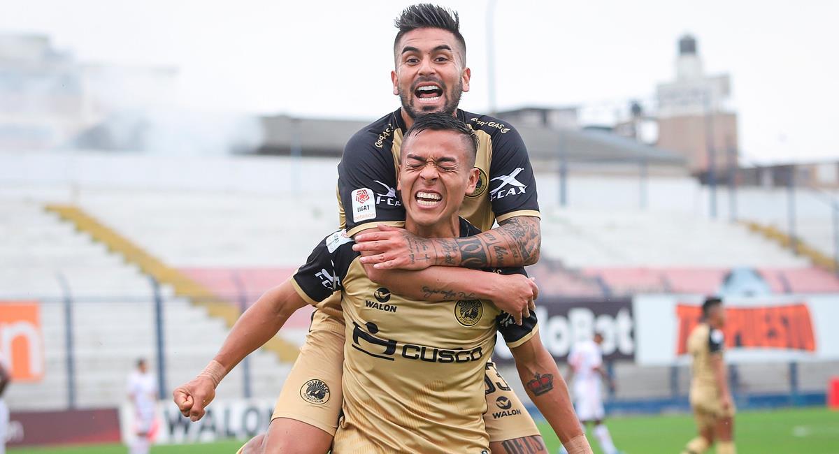 Cusco FC se llevó los tres puntos ante Ayacucho FC. Foto: FPF