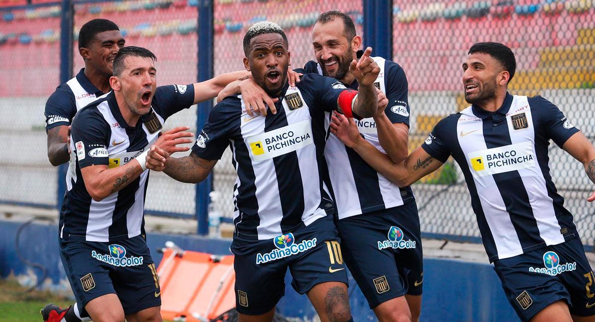 Farfán le dio una nueva victoria a Alianza Lima. Foto: FPF