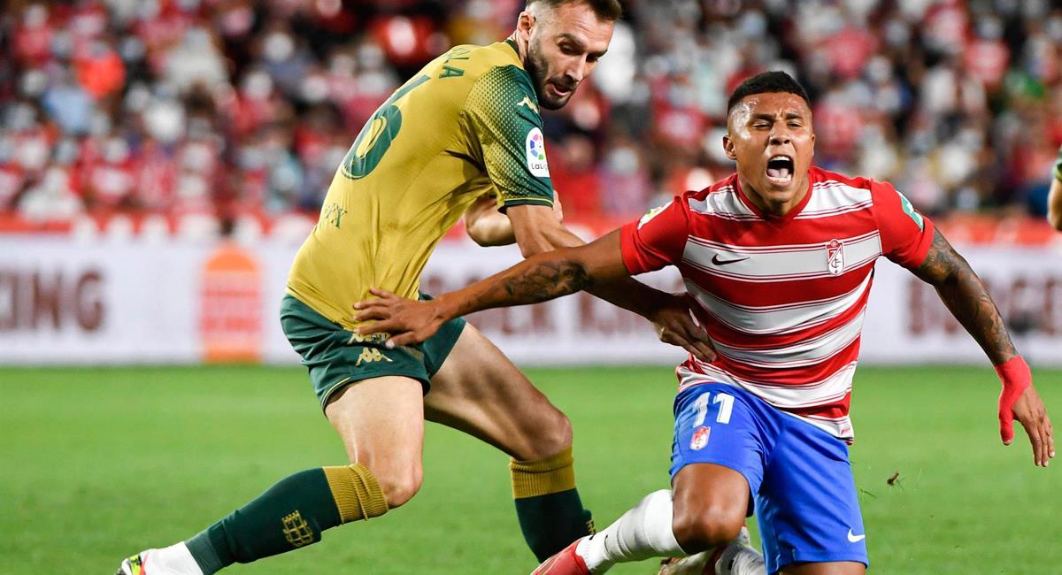 Granada cayó en casa 2-1, con Luis Abram desde los 59 minutos. Foto: EFE