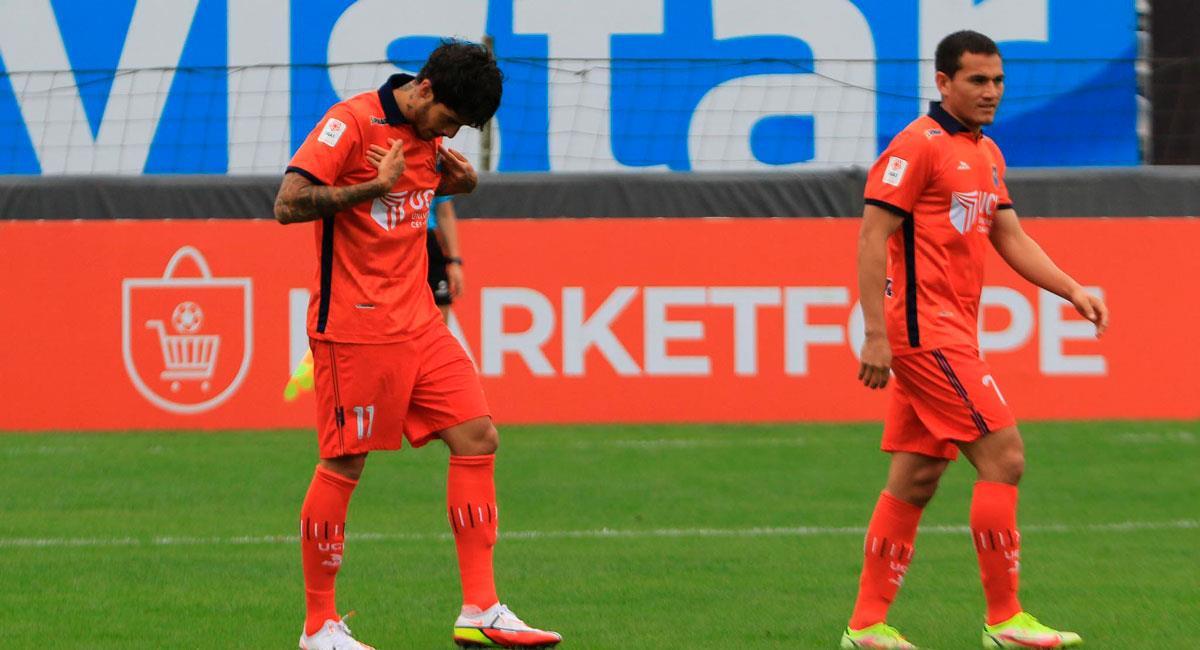 Beto da Silva anotó para Vallejo. Foto: FPF