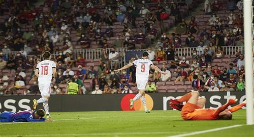 Bayern Múnich goleó al Barcelona